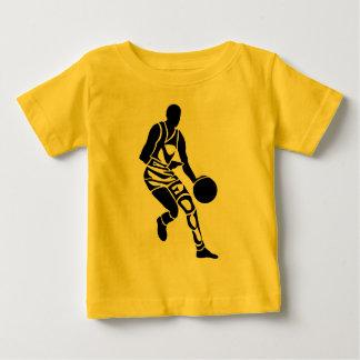 ケネディのバスケットボール選手 ベビーTシャツ