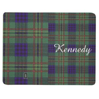 ケネディの一族の格子縞のスコットランド人のタータンチェック ポケットジャーナル