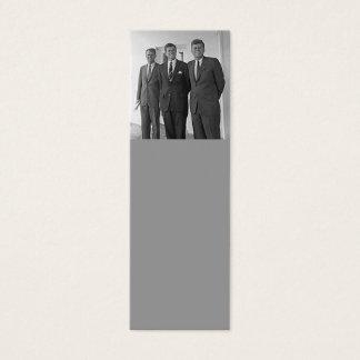 ケネディの兄弟、ジョン、テッド、ロバート スキニー名刺