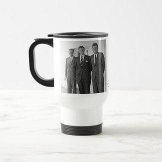 ケネディの兄弟、ジョン、テッド、ロバート トラベルマグ