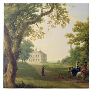 ケネディの郡ウィックロー、アイルランド1785年を取付けて下さい(油 タイル