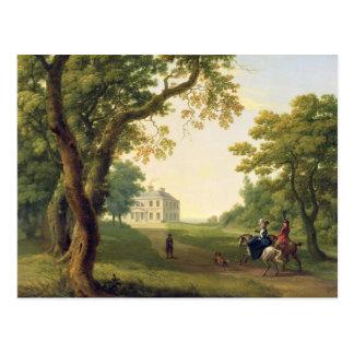 ケネディの郡ウィックロー、アイルランド1785年を取付けて下さい(油 ポストカード