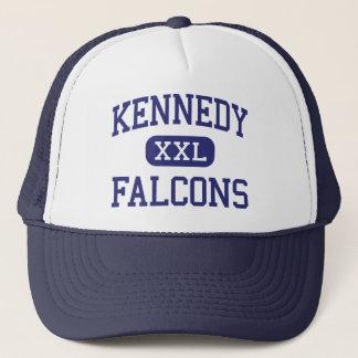 ケネディの《鳥》ハヤブサの中学校マイアミフロリダ キャップ