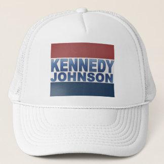 ケネディジョンソンのキャンペーン キャップ