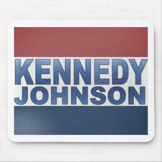 ケネディジョンソンのキャンペーン マウスパッド