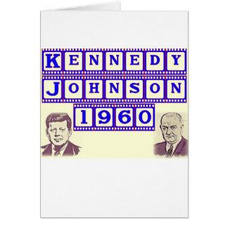 ケネディジョンソン1960年 カード