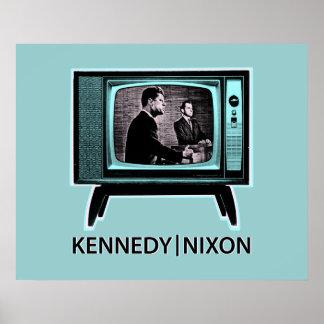 ケネディニクソンの討論1960年 ポスター