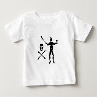 ケネディ黒いウォルター ベビーTシャツ