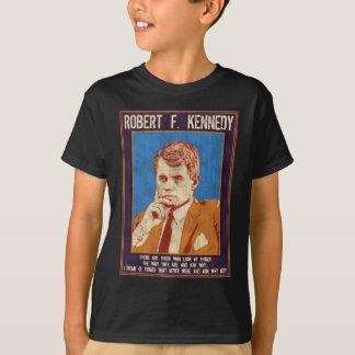 """ケネディ、ロバート- """"なぜないか。"""" Tシャツ"""
