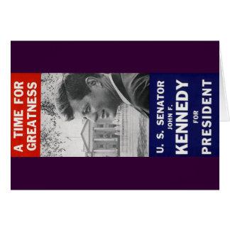 ケネディ-偉大さの時間 カード