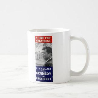 ケネディ-偉大さの時間 コーヒーマグカップ