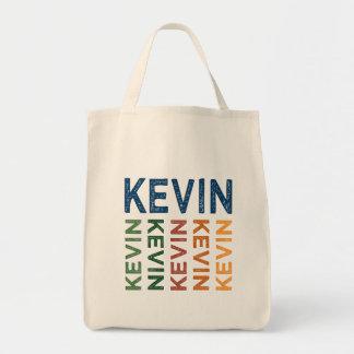 ケビンのかわいいカラフル トートバッグ