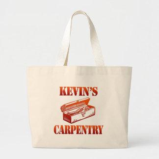 ケビンの大工仕事 ラージトートバッグ