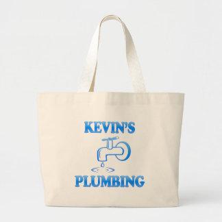 ケビンの配管 ラージトートバッグ