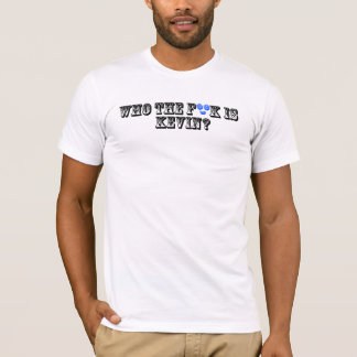 ケビンはだれですか。 ライト Tシャツ