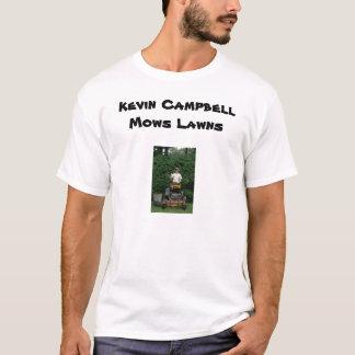 ケビンキャンベルは芝生を刈ります Tシャツ