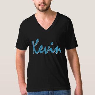 ケビン(黒で青い) Tシャツ