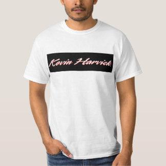 ケビンHarvick米国の旗のTシャツ Tシャツ