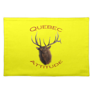 ケベックの態度 ランチョンマット