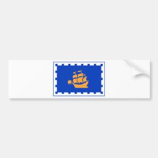 ケベックの旗 バンパーステッカー