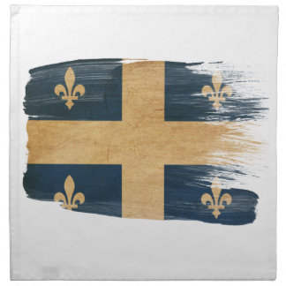 ケベックの旗 プリントナプキン