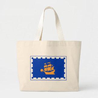 ケベックの旗 ラージトートバッグ