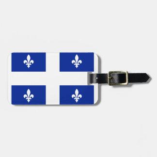 ケベックの旗- Vive le Quebeccのlibre ラゲッジタグ