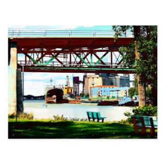 ケベックの景色 ポストカード