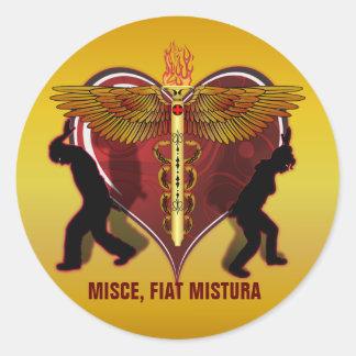 ケリュケイオンのハートV-1、MISCE、フィアットMISTURA ラウンドシール