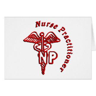 ケリュケイオンNPのロゴのナースの従業者 カード