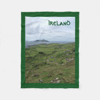 ケリーのアイルランドの海岸のアイルランド毛布のリング フリースブランケット