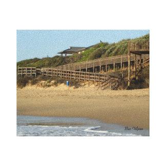 ケリーのビーチ、港アルフレッド、南アフリカ共和国 キャンバスプリント