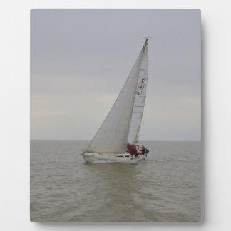 ケリーのヨットのFloozie フォトプラーク