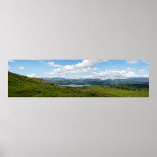 ケリーの方法からの眺めのパノラマ ポスター
