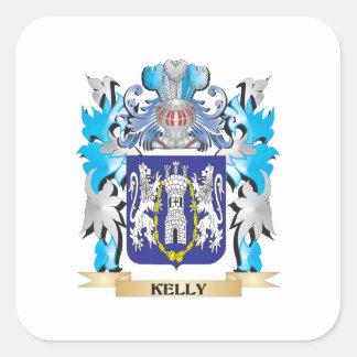 ケリーの紋章付き外衣-家紋 スクエアシール