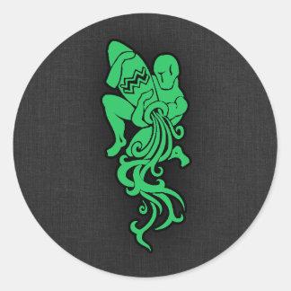 ケリーの緑のアクエリアス ラウンドシール
