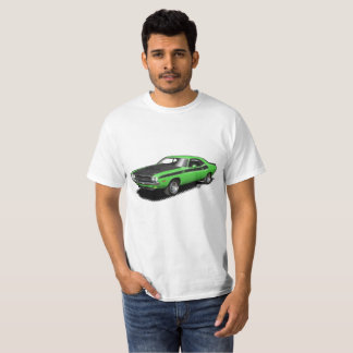 ケリーの緑の挑戦者クラシックな車のTシャツ Tシャツ