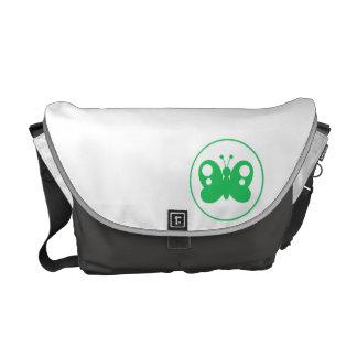 ケリーの緑の蝶 メッセンジャーバッグ