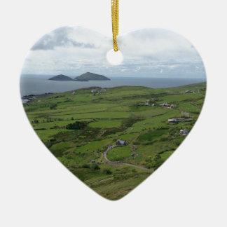 ケリーアイルランドのアイルランドのオーシャンビューのリング セラミックオーナメント