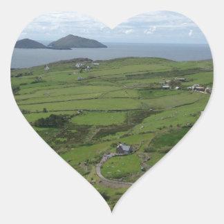ケリーアイルランドのアイルランドのオーシャンビューのリング ハートシール
