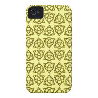 ケルト人のScandiの三結び目のデザイン Case-Mate iPhone 4 ケース