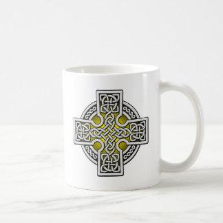 ケルト人4の方法銀および金ゴールド コーヒーマグカップ