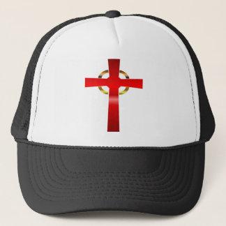 ケルト十字のトラック運転手の帽子 キャップ