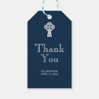 ケルト十字はラベル-モダン感謝していしています ギフトタグ