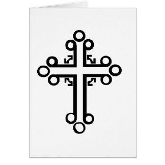 ケルト十字 グリーティングカード
