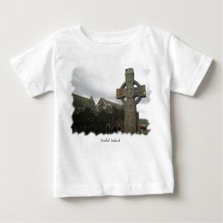 ケルト十字、Cashel、アイルランド ベビーTシャツ
