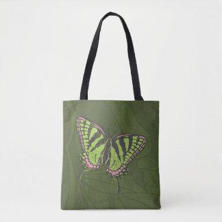 ケルト族のアゲハチョウの全にプリントのバッグ トートバッグ