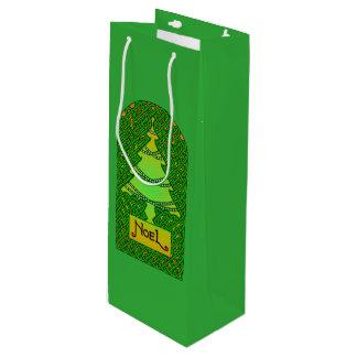 ケルト族のクリスマスツリー ワインギフトバッグ