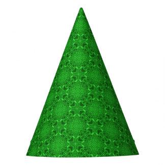 ケルト族のクローバーの万華鏡のように千変万化するパターンのカスタマイズ可能なパーティーの帽子 パーティーハット