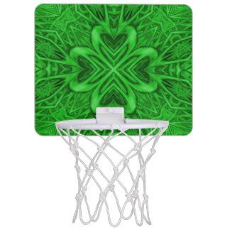 ケルト族のクローバーの万華鏡のように千変万化するパターンの小型バスケットボールバスケ ミニバスケットボールゴール